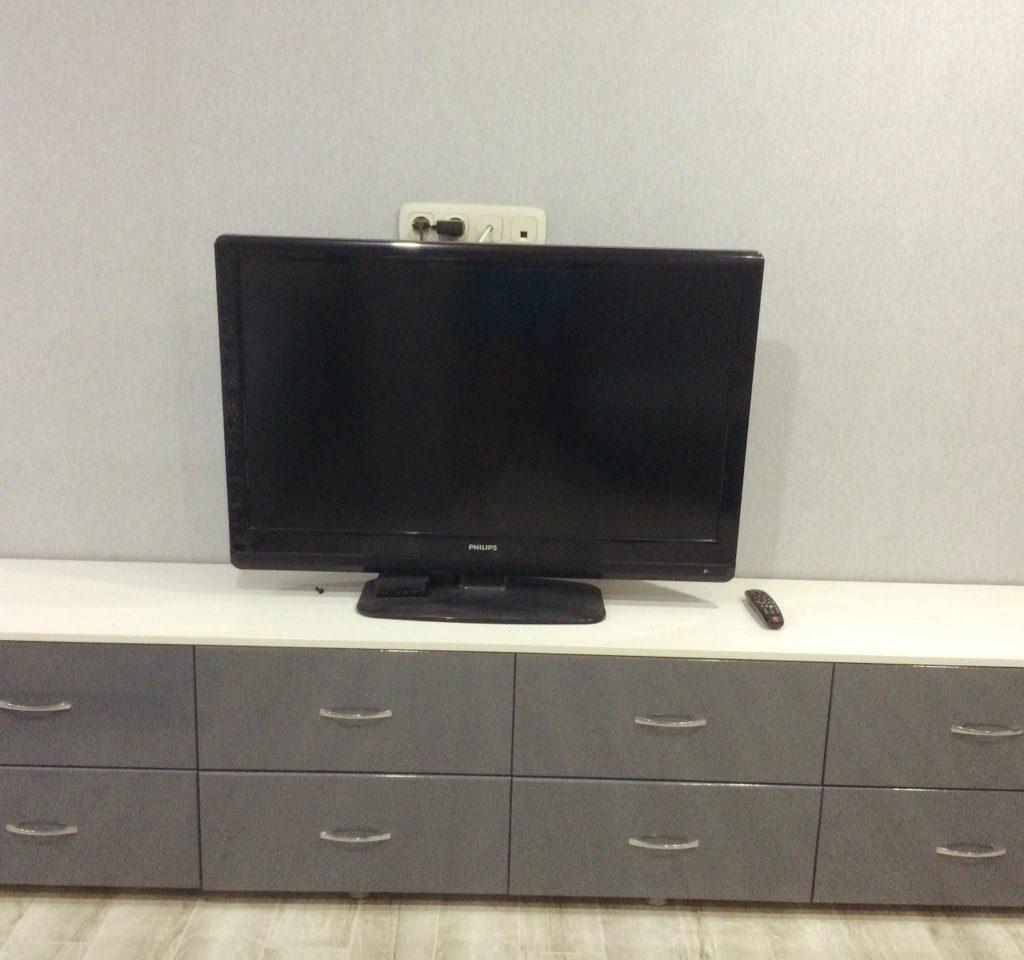 ТВ Тумба с выкатными ящиками