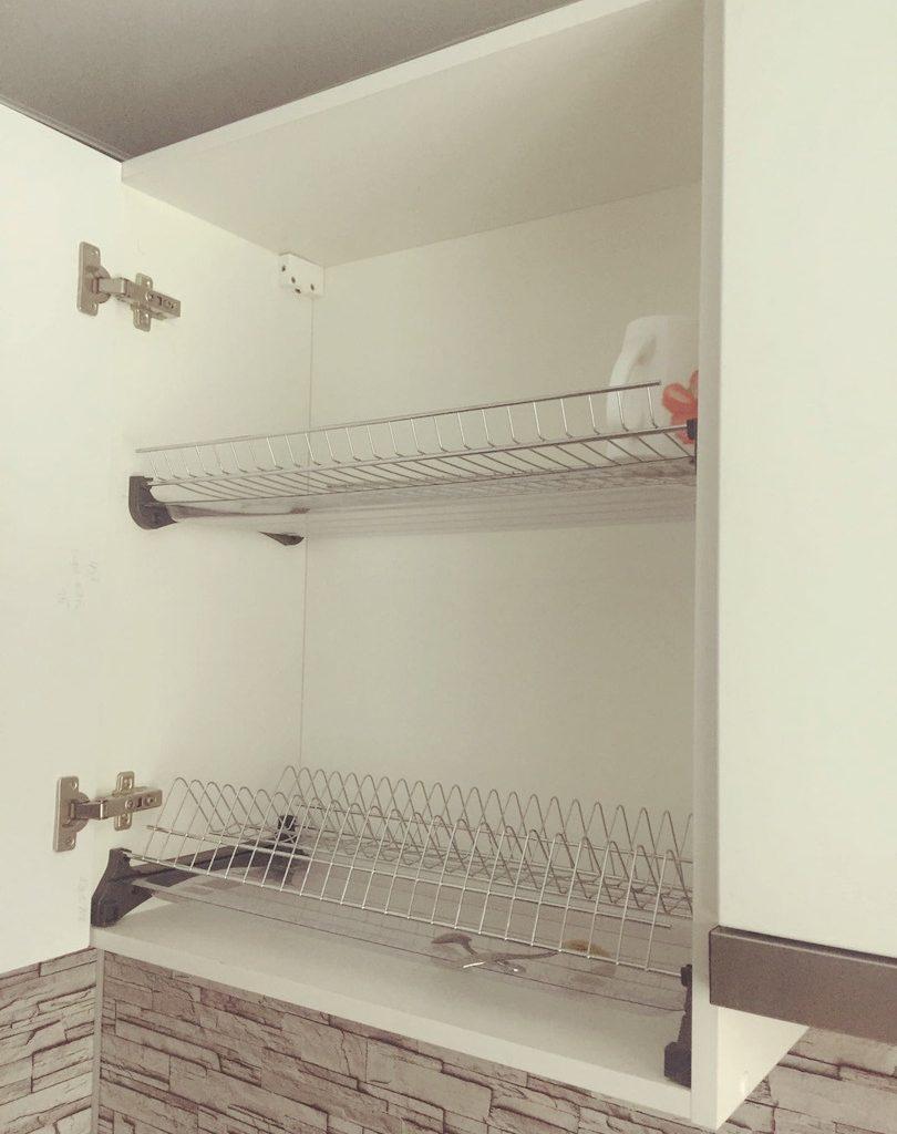 Угловой кухонный гарнитур с МДФ