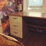 Индивидуальный стол с двумя стационарными тумбами
